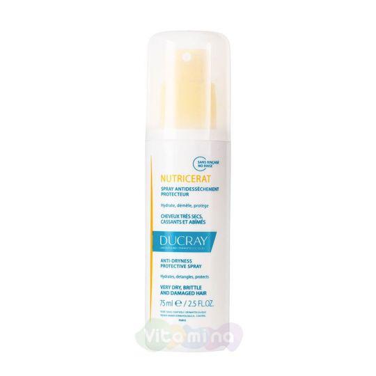 Ducray Nutricerat UV-спрей защитный для сухих волос, 75 мл