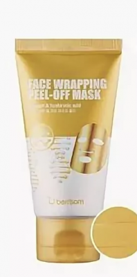 Товар недели! Маска-пленка для лица Berrisom Face Wrapping peel off pack – Gold 50мл