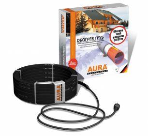 Комплект для защиты водосточных труб и желобов от замерзания 8 метров. AURA FS 30-8