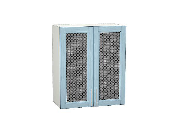 Шкаф верхний Сканди В609 со стеклом Sky Wood