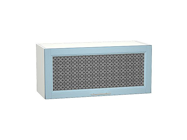 Шкаф верхний Сканди ВГ800 со стеклом Sky Wood