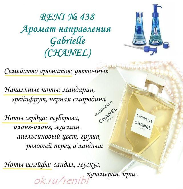 духи Reni № 438