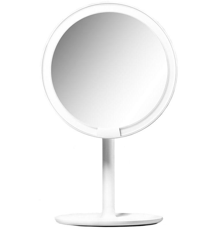 Зеркало косметическое настольное Xiaomi Amiro Lux High Color (AML004W) с подсветкой (Уценка)