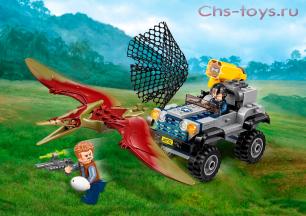 Конструктор Lari Динозавры Погоня за птеранодоном 10921 (75926) 138 дет