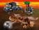 Конструктор LELE Dinosaur World Побег в гиросфере от карнотавра 39117 (Аналог LEGO Juniors Jurassic World 75929) 596 дет