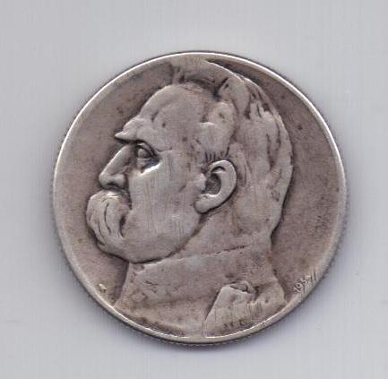 5 злотых 1934 года Легионер Польша