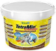 TetraMin Granules Корм в гранулах для всех видов декоративных рыб (10 л)