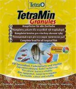 TetraMin Granules Корм в гранулах для всех видов декоративных рыб (15 г)