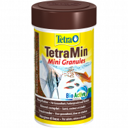 TetraMin Mini Granules Корм в гранулах для мелких декоративных рыбок (100 мл)