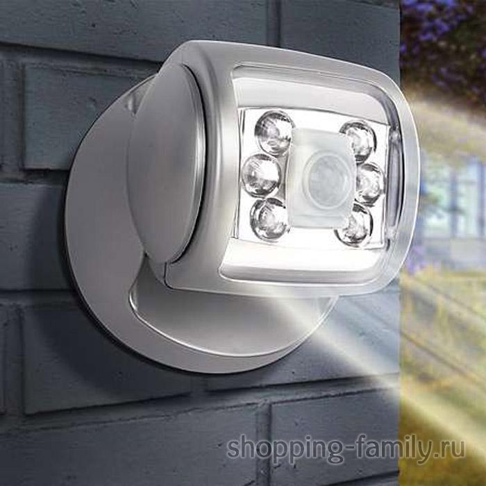 Светодиодный светильник с датчиком движения Wireless Led Porch Light