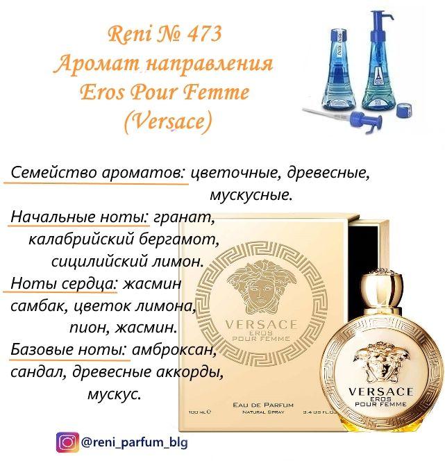 духи Reni № 473