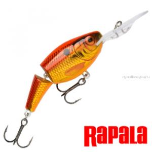 Воблер RapaIa Jointed Shad Rap JSR05 50 мм / 8 гр / Заглубление: 1,8 - 3,9 м / цвет: OSD