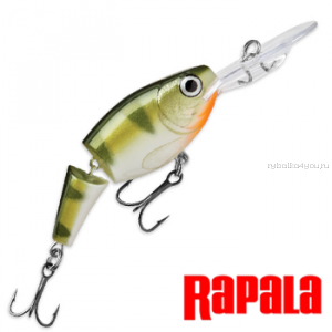 Воблер RapaIa Jointed Shad Rap JSR05 50 мм / 8 гр / Заглубление: 1,8 - 3,9 м / цвет: YP