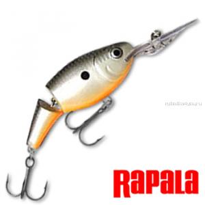 Воблер RapaIa Jointed Shad Rap JSR07 70 мм / 13 гр / Заглубление: 2,1 - 4,5 м / цвет: OPSD