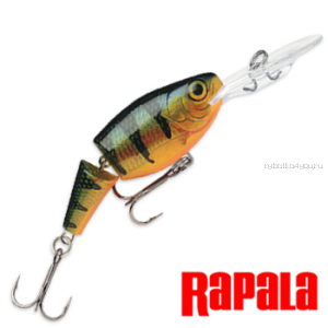 Воблер RapaIa Jointed Shad Rap JSR07 70 мм / 13 гр / Заглубление: 2,1 - 4,5 м / цвет: P