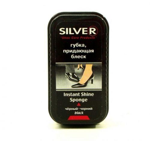 Губка Silver придающая блеск black/черная