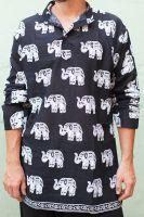 Индийская мужская рубашка курта, хлопок. Купить недорого в интернет магазине Инд Базар