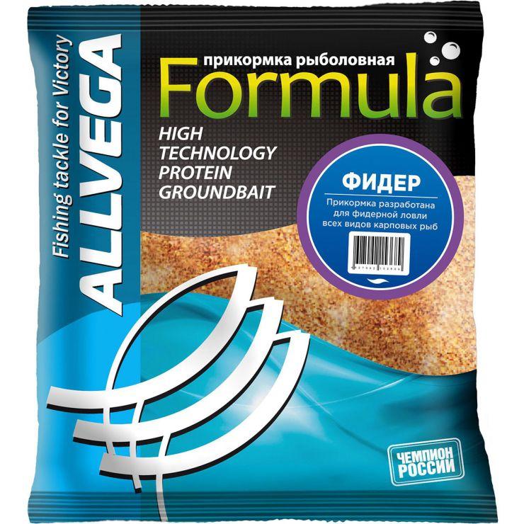 "Прикормка ALLVEGA ""Formula Feeder"" 0,5 кг (ФИДЕР)"