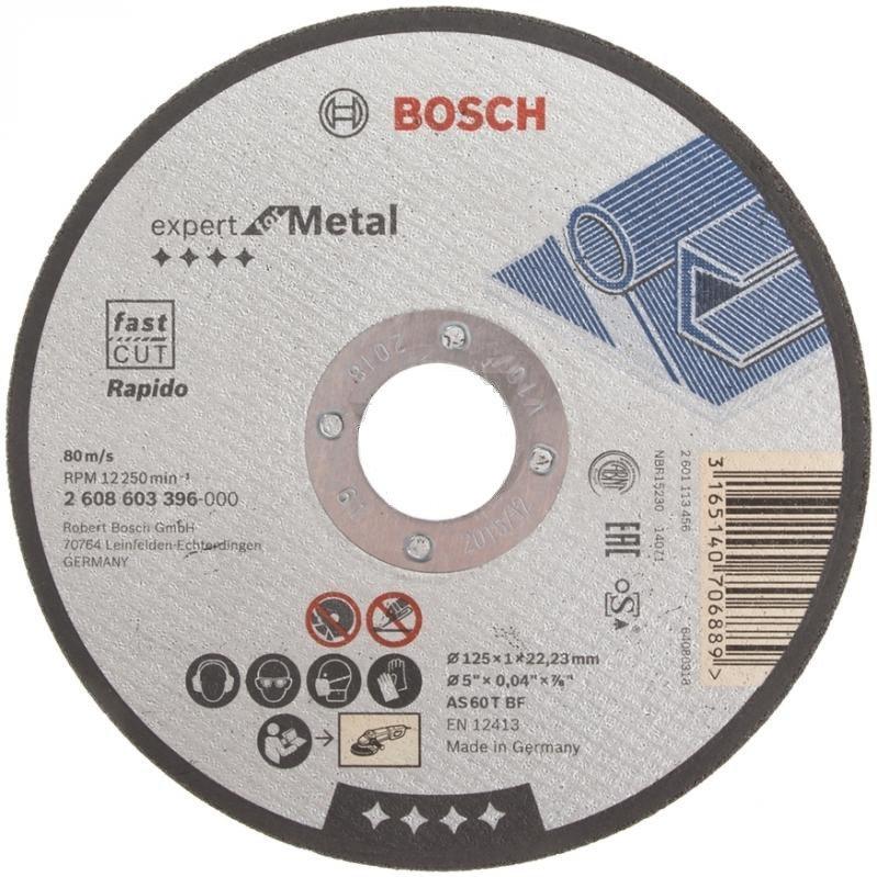 Отрезной диск по металлу 125х1 Bosh Expert