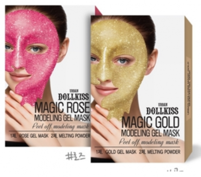 Маска для лица гелевая BAVIPHAT Urbandollkiss Magic Modeling Gel Mask 50гр/5гр