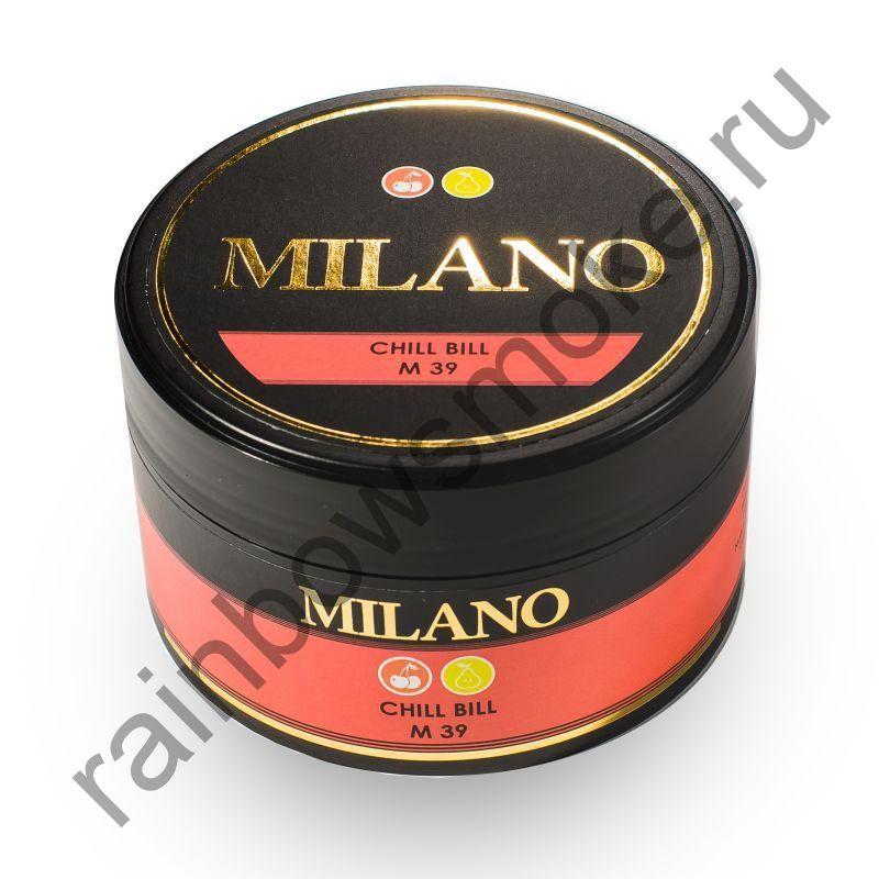 Milano 100 гр - M39 Chill Bill (Счет на Холод)