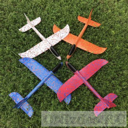 Планер-самолетик из пенопласта