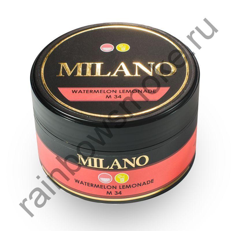 Milano 100 гр - M34 Watermelon Lemonade (Арбузный Лимонад)