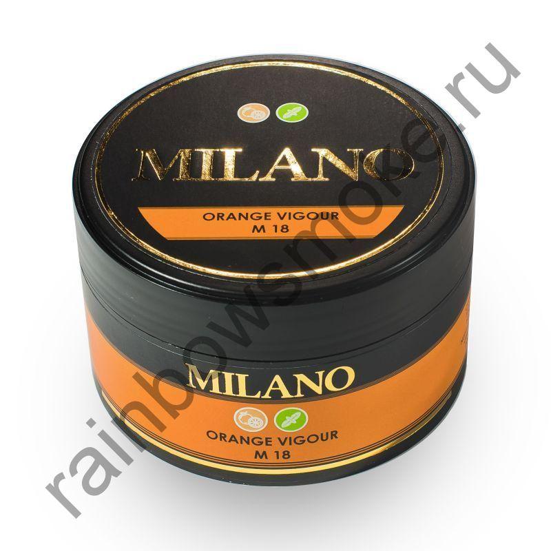 Milano 100 гр - M18 Orange Vigour (Апельсин Мята)