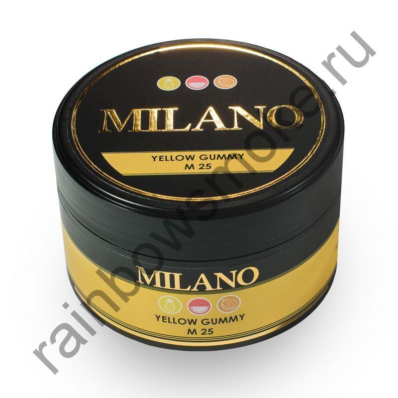 Milano 100 гр - M25 Yellow Gummy (Желтые Мишки)