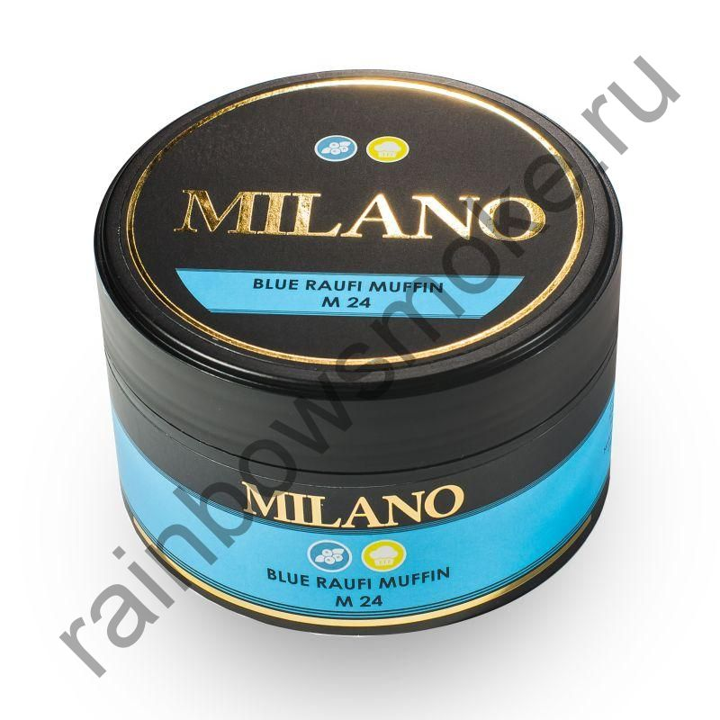 Milano 100 гр - M24 Blue Raufi Muffin(Черничный маффин)