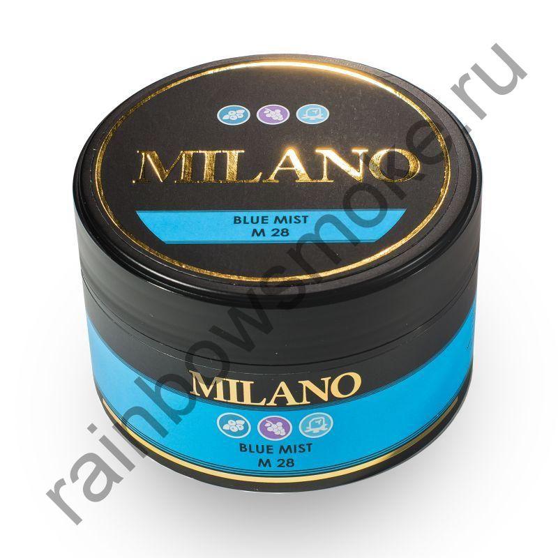 Milano 100 гр - M28 Bluе Mist (Голубой туман)