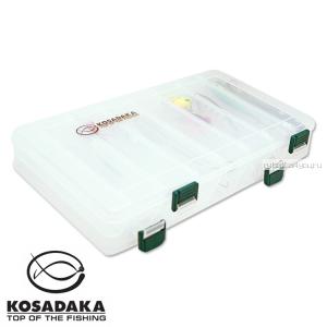 Коробка для приманок Kosadaka двухсторонняя TB2100