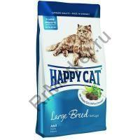 """Эдалт Лардж Брид (XL) """"ХЭППИ КЭТ"""" ФитВелл , для кошек крупных пород, профилактика зубного камня"""