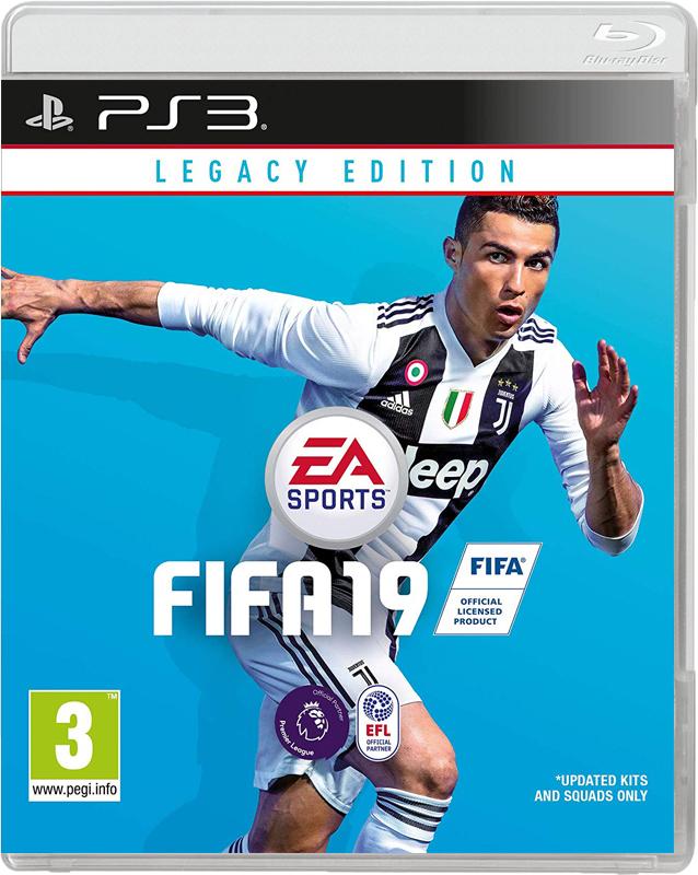 Игра FIFA 19 Ps3 Legacy Edition ( русская версия )