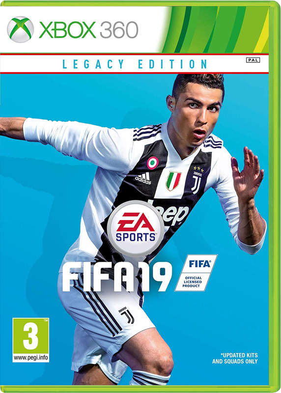 Игра FIFA 19 Xbox 360 Legacy Edition ( русская версия )