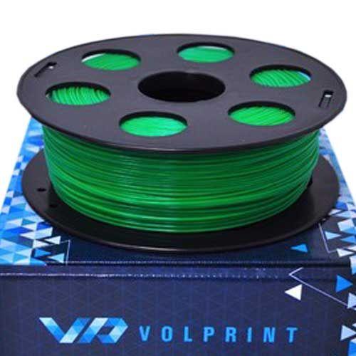 PLA пластик VolPrint 1,75 мм зеленый, 1кг