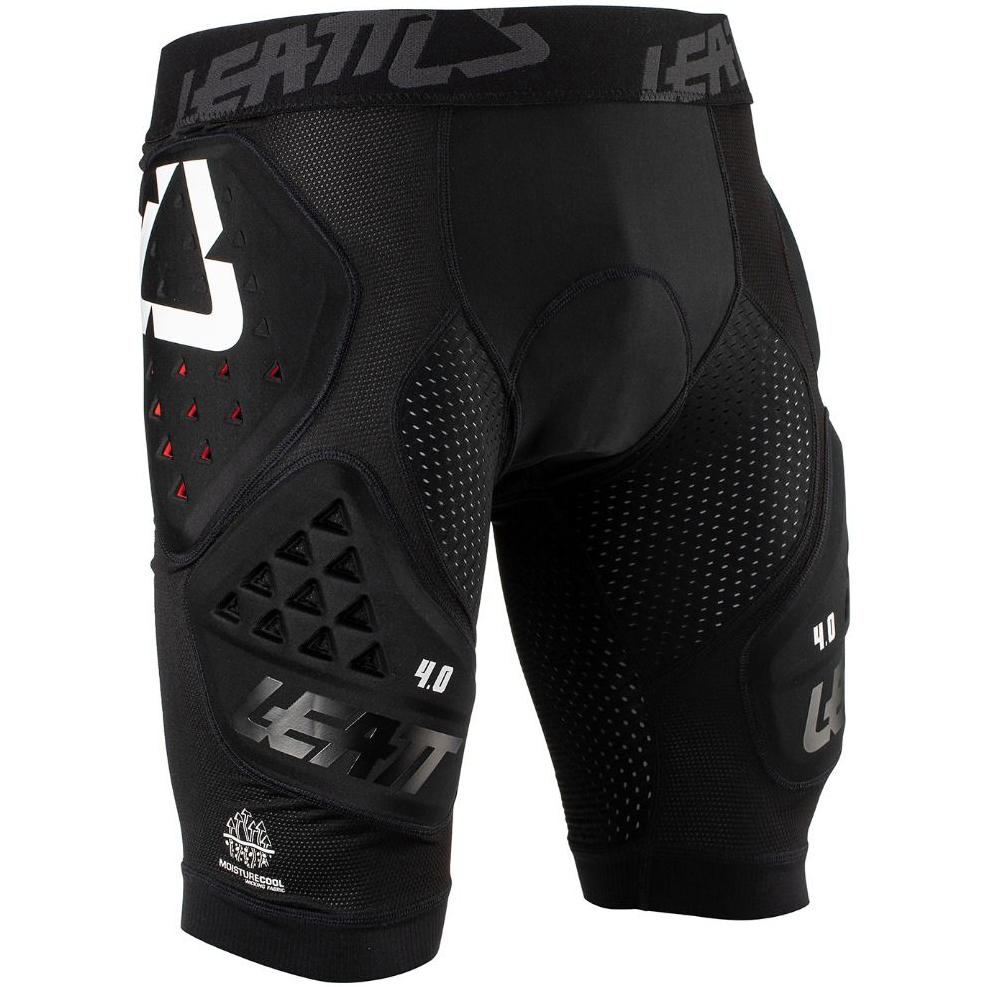 Leatt - Impact 3DF 4.0 шорты защитные, черные