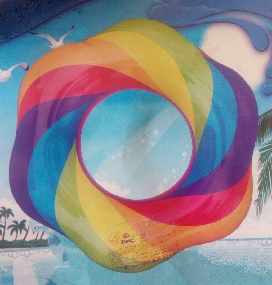 Надувной спасательный круг, 60 см