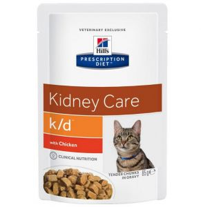 Hill's Prescription Diet Feline k/d with Chicken 85 гр.