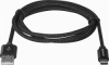USB кабель USB09-03T PRO USB2.0 Черный, AM-Type-C, 1m, 2.1A