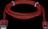 USB кабель USB09-03T PRO USB2.0 Красный, AM-Type-C, 1m, 2.1A