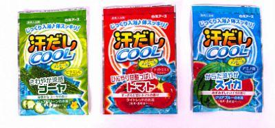 """""""Hakugen Earth"""" """"Asedashi COOL"""" Освежающая соль для ванны пакетик 25 гр."""