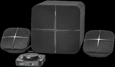 Акустическая 2.1 система X460 42Вт, Bluetooth