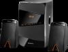 Акустическая 2.1 система X361 36Вт, BT/FM/MP3/SD/USB/LED/RC