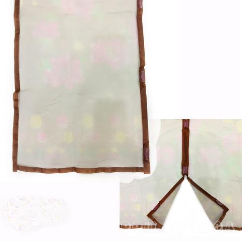 Дверная антимоскитная сетка на магнитах, 100х210 см коричневый