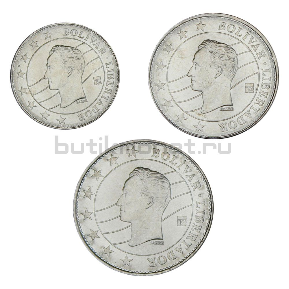Набор монет 2016 Венесуэла (3 штуки)