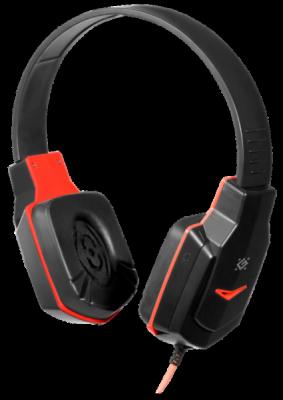 НОВИНКА. Игровая гарнитура Warhead G-320 черный+красный, кабель 1.8 м