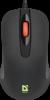 Проводная оптическая мышь Ultra Classic MB-280 7цветов,3кнопки,1000dpi,черный