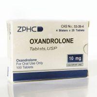 OXANDROLONE (МЕТАНДИЕНОН). ZPHC. 25 таб. по 10 мг.