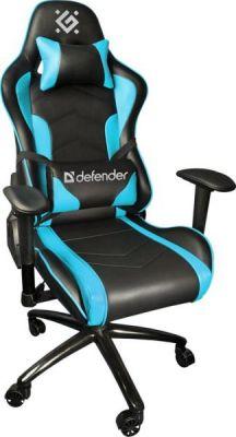 Игровое кресло Interceptor CM-363 Голубой, класс 4, 60 мм